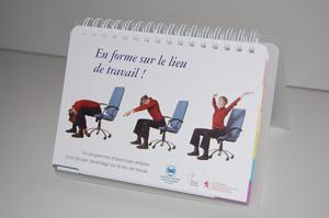 Calendrier «En forme sur le lieu de travail!»
