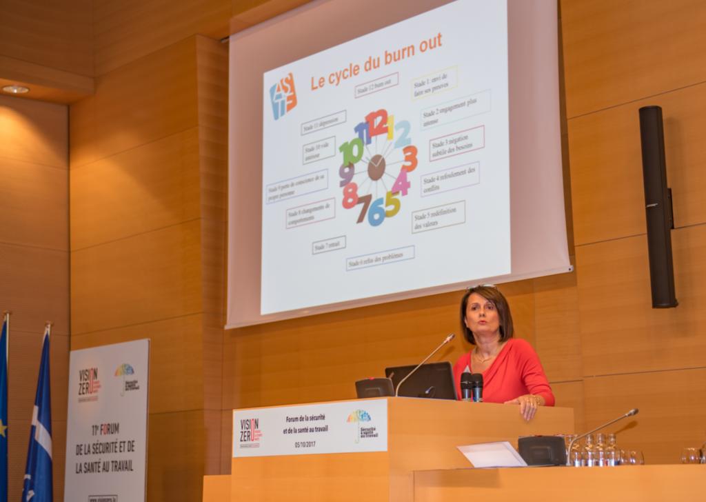 Prévention des risques psychosociaux – Dr. Patrizia Thiry-Curzietti, Directrice générale de l'ASTF