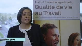 Prix national SST 2020 – Institut luxembourgeois de la Qualité de Vie au Travail