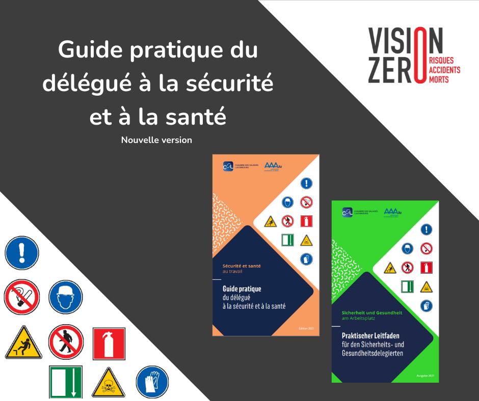 Guide pratique du délégué à la sécurité et à la santé