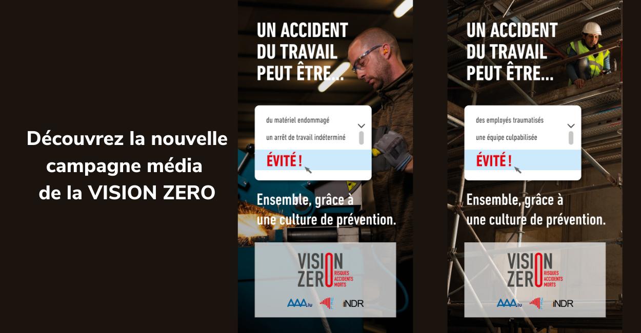 Découvrez la nouvelle campagne de la stratégie nationale VISION ZERO
